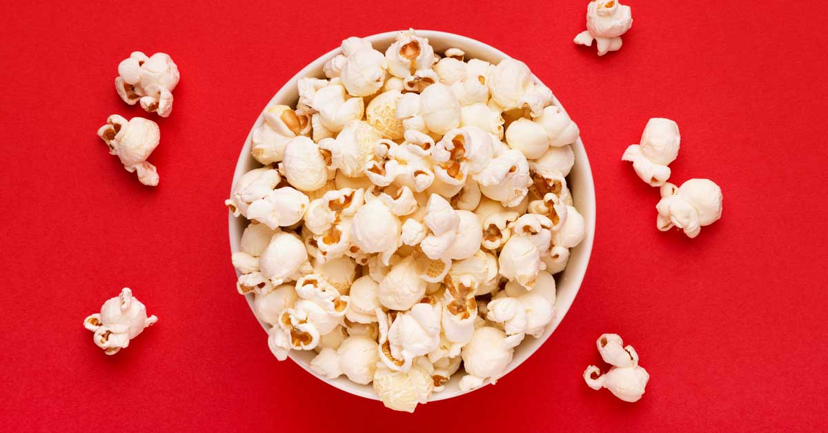 low carb diet and popcorn