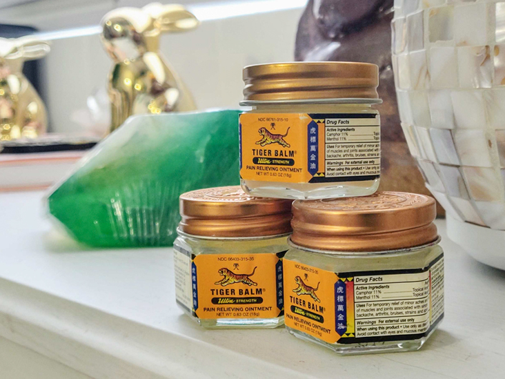 How to Use Tiger Balm for Pain Relief