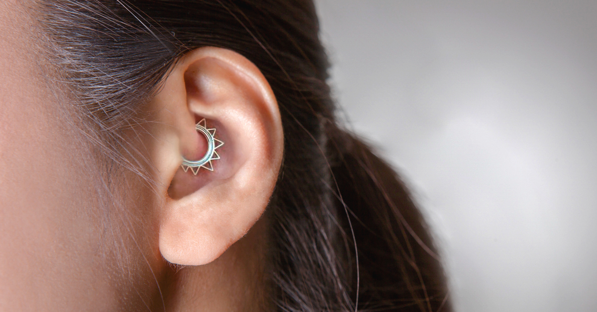 Daith Piercing For Migraines Does It Work And Is It Safe