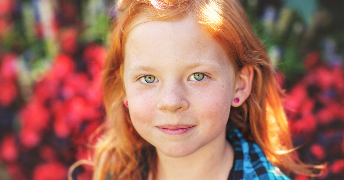 What Are The Chances Of Having Red Hair And Green Eyes