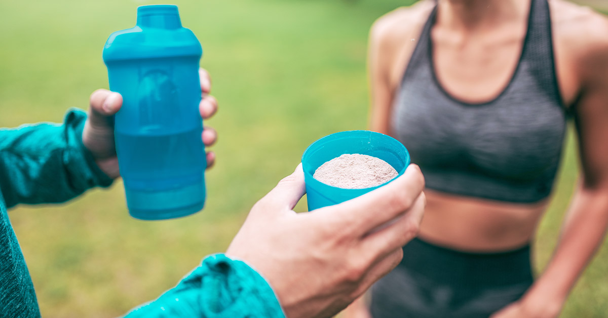 Protein Shakes May Not Do Much After a Workout