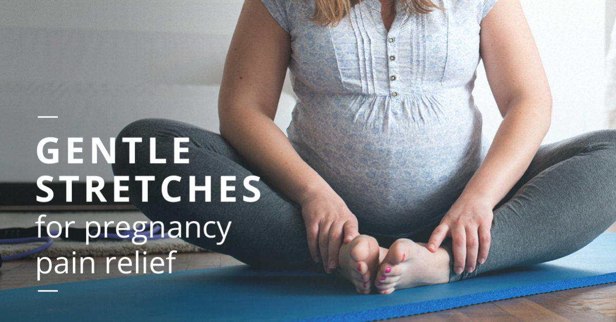Pregnancy Stretches For Back Hips And Legs