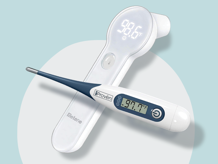 Digital Thermometer for Baby Adult Thermometer for Fever Alert Function Digital Body Soft Head Oral Alar Thermometer 10 Seconds Reading