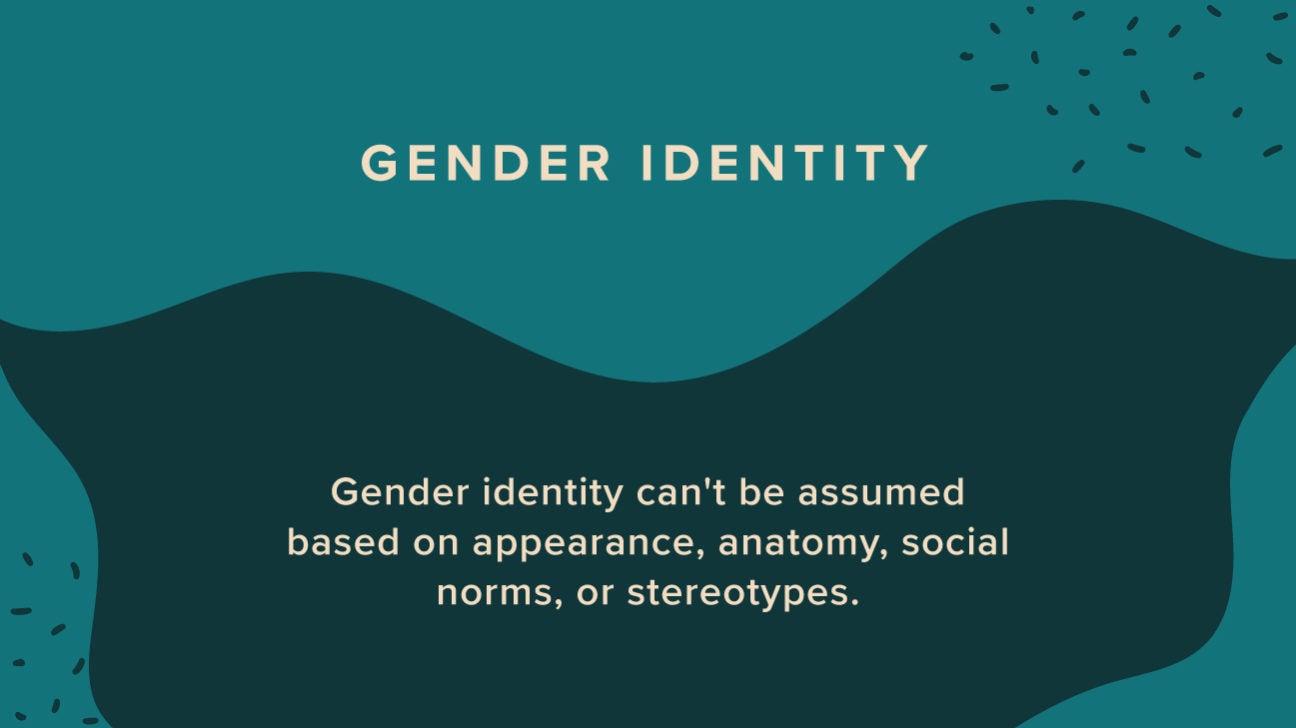 List gender identity LGBTQ+ Identities