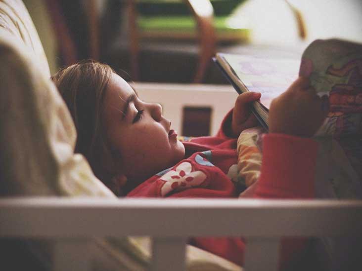 Creative Case Sleepy Girl In Bed