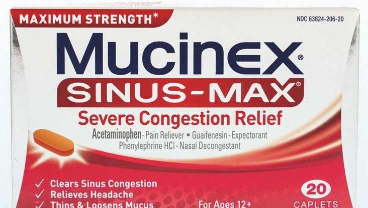 Mucinex 600 tabletas utilizadas en diabetes
