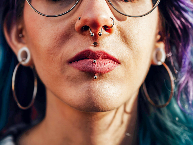 Infected Lip Piercing Symptoms Treatment Prevention And More