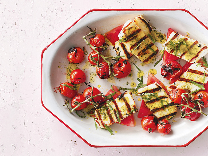 What Is Halloumi? Nutrition, Benefits, and Downsides