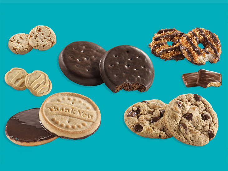 Every Girl Scout Cookie Ranked from Healthiest to Unhealthiest