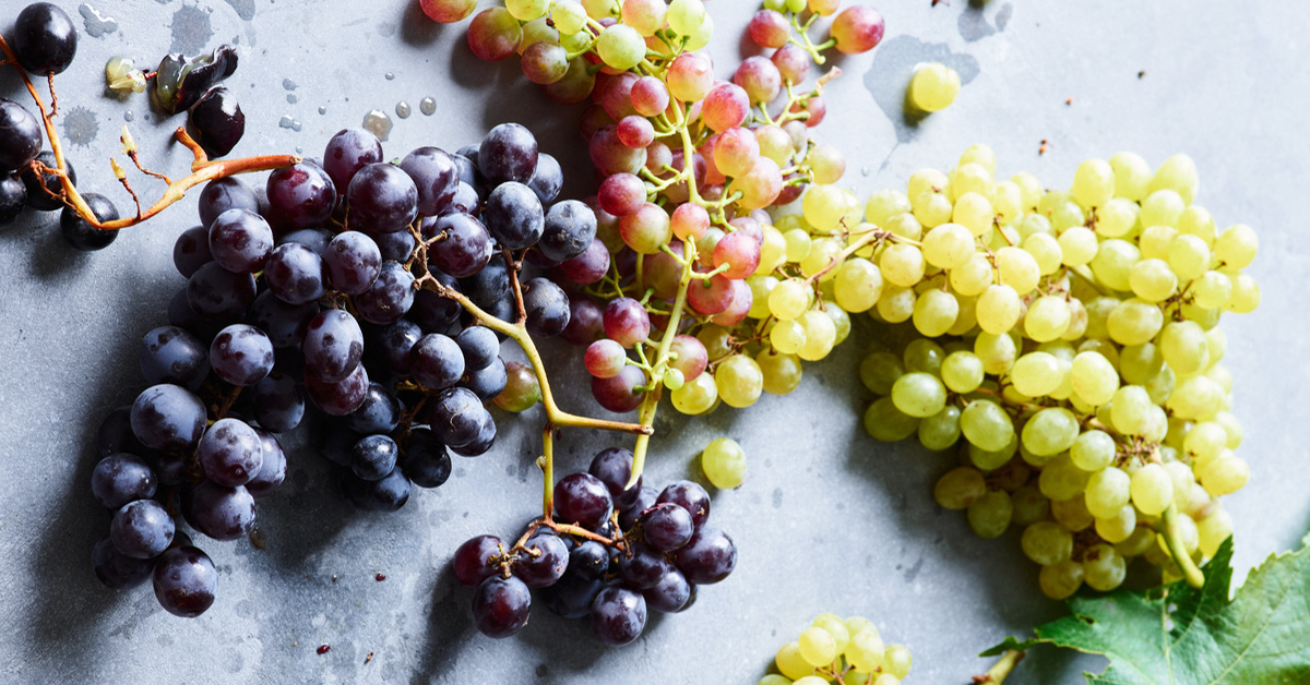 5 Big Red Grape Seeds FRESH TABLE GRAPES