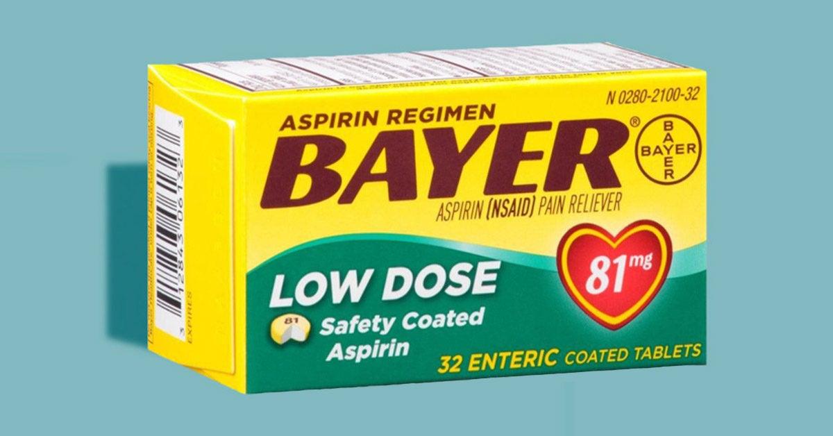 Should You Take Aspirin Every Day? Bayer Display Reignites Debate