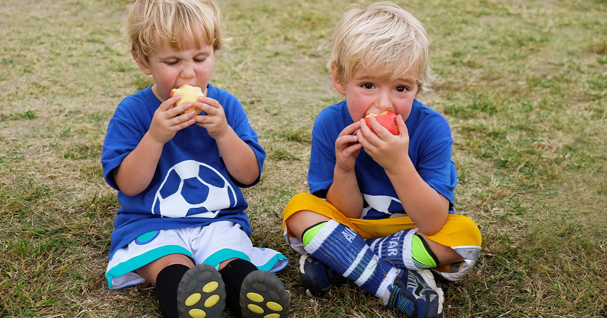 Post-Game Snacks Can Have More Calories Than Kids Burn Playing Sports