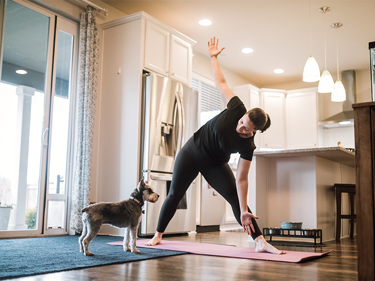 How to Exercise at Home If You're Avoiding the Gym
