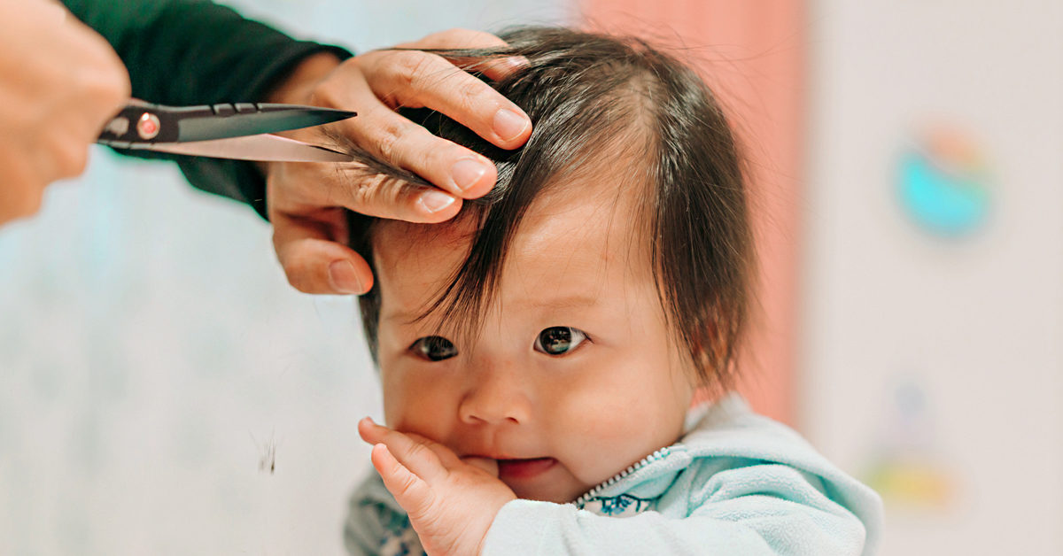 How To Cut Baby Hair A Step By Step Guide