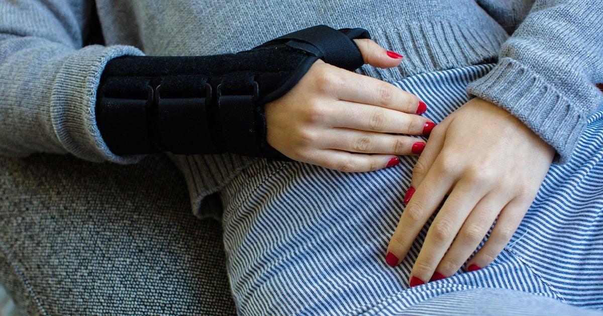 Sprained Wrist Bruising
