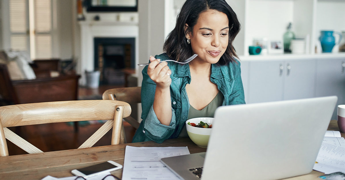 13 Ways to Prevent Stress Eating When You're Stuck at Home