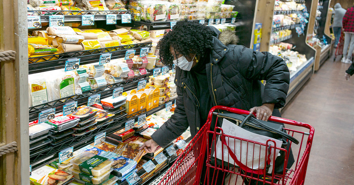 Gloves Won't Reduce Your Risk of COVID-19 at the Grocery Store