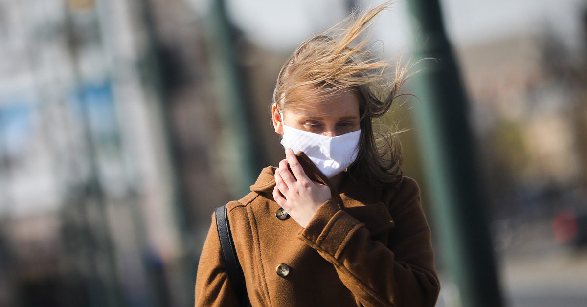 Wind May Carry Coronavirus Farther