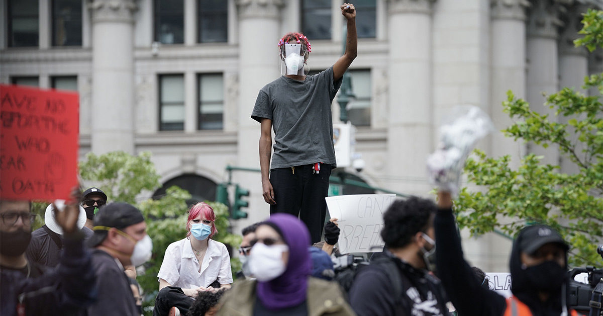 Why Wearing a Mask Is Important When Going to Protest