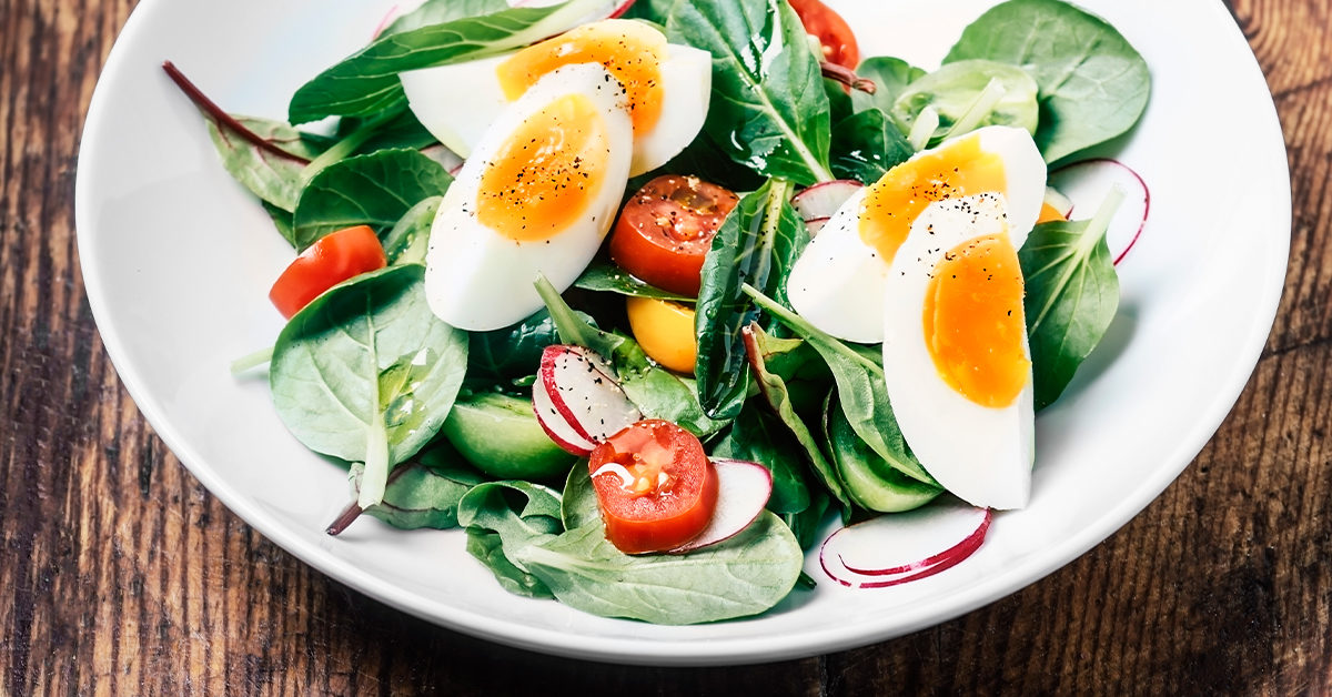 is boiled eggs good for dieting