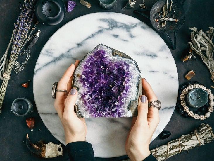 Purple Amethyst and Rose Quartz gemstone silver beaded bracelet. Pretty Rainbow Fluorite