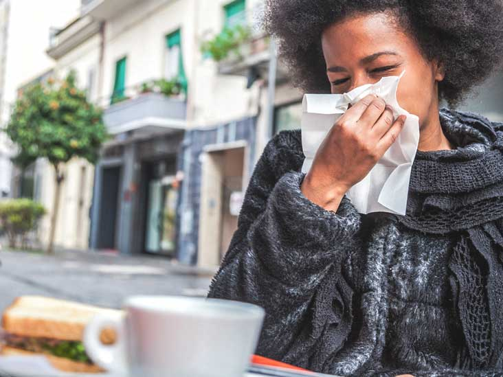 does dieting cause sneezing