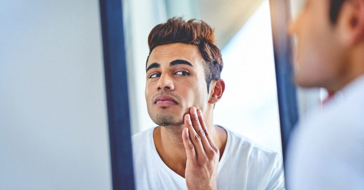 does diet affect facial hair growth