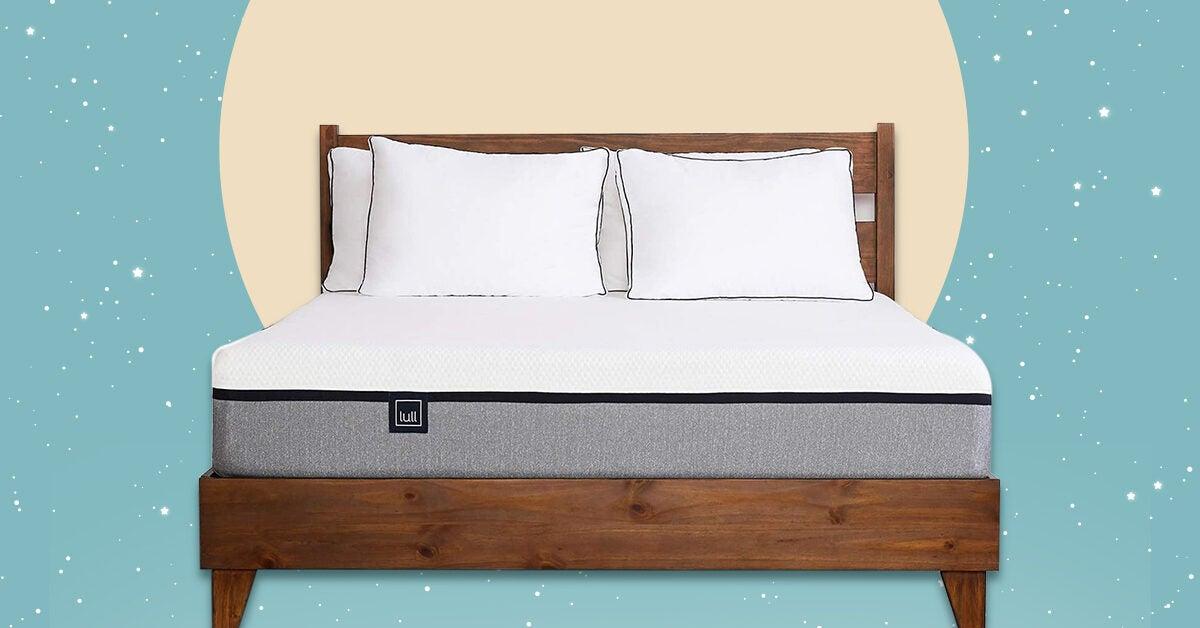 10 Best Mattresses For Platform Beds 2020, Solid Platform Bed Frame For Memory Foam Mattress