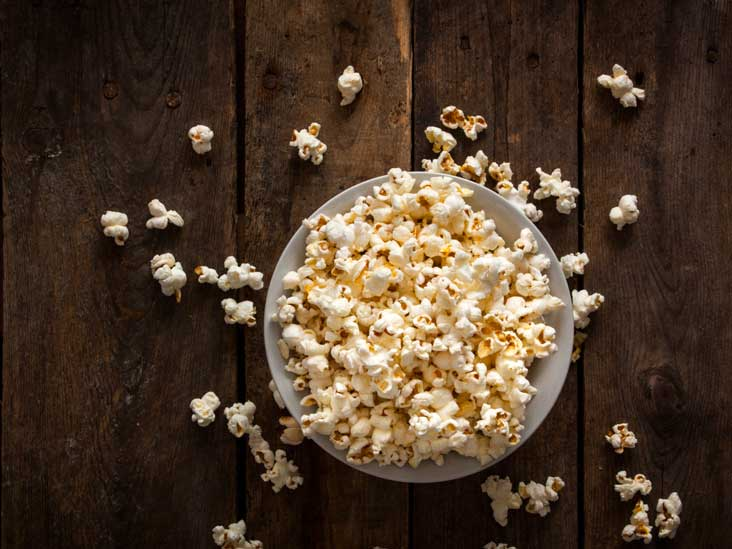 popcorn good diet food?