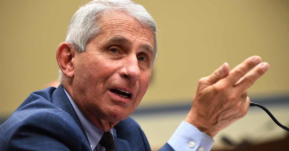 Dr. Anthony Fauci talks COVID-19 Vaccine and School Openings