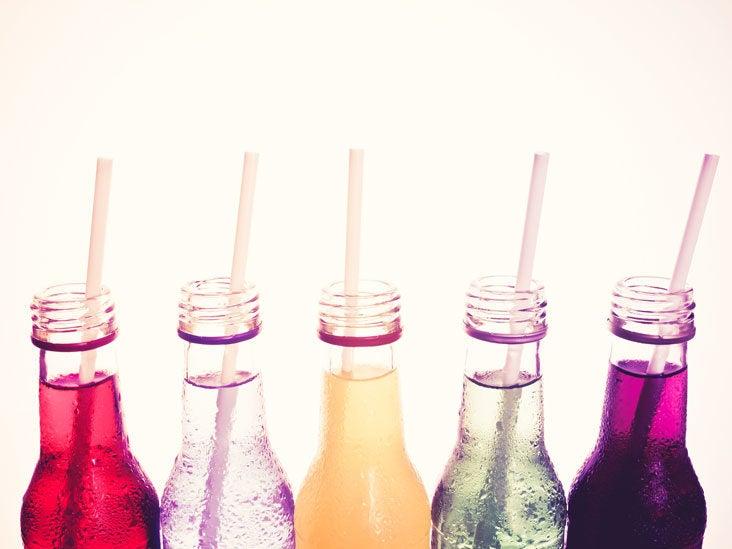 does diet soda damage throat