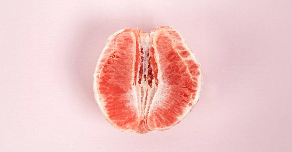 Vagina and cervix close up examination