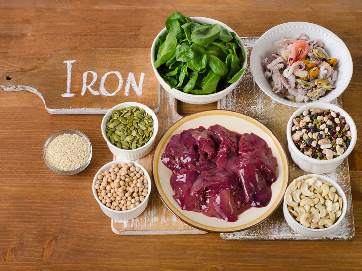 how to remove iron from your diet