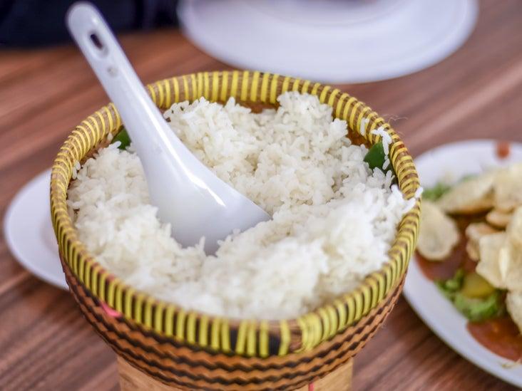 plant based diet white rice