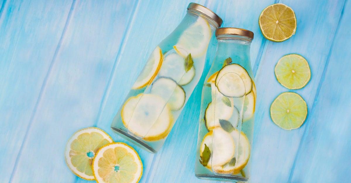 lemon water fasting diet