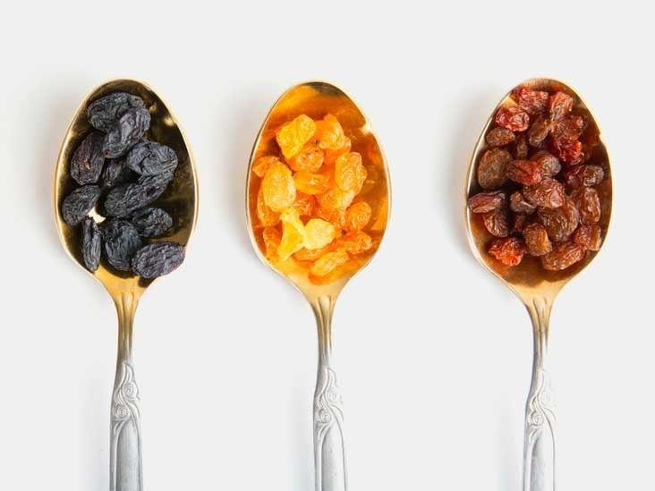 are raisens healthy diet food