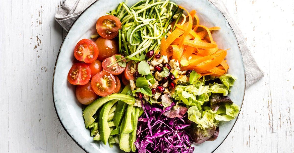 plant based diet below the line