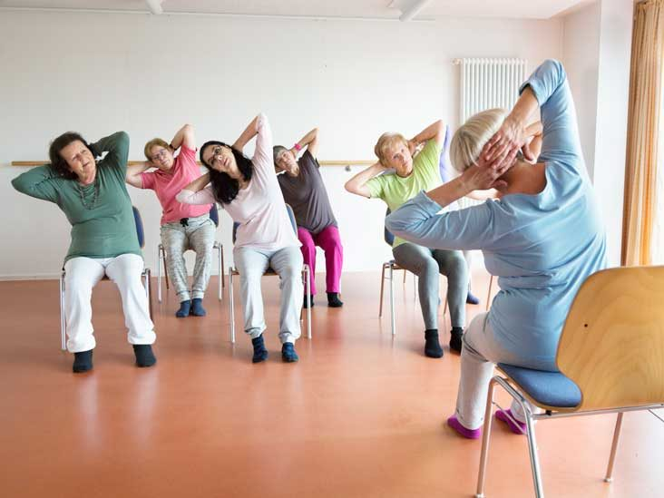 5 Seated Back Pain Stretches For Seniors