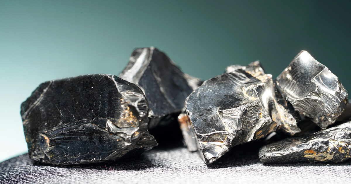 Shungite bracelet  for grounding and wifi protection