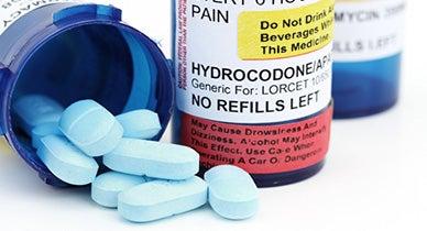 Prescriptions for Hydrocodone