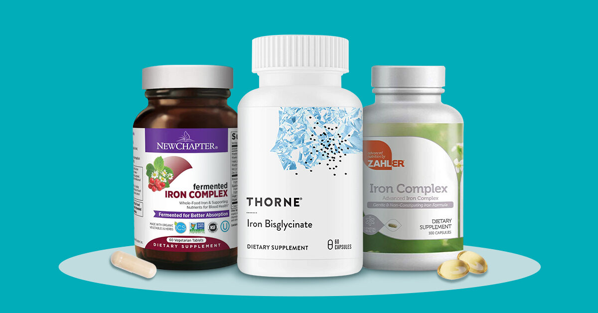The 13 Best Iron Supplements for 2021