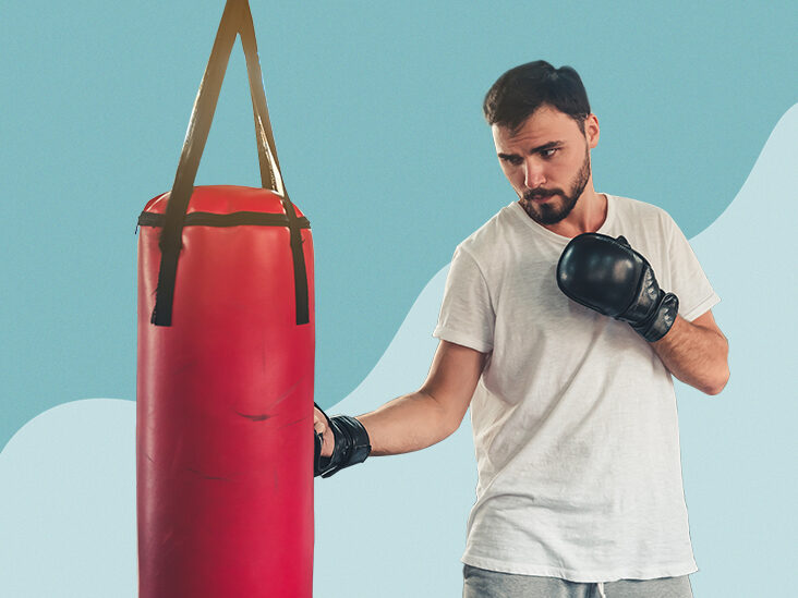 Brand new Boxing,kickboxing Punching bag  with Chain /& Punching gloves