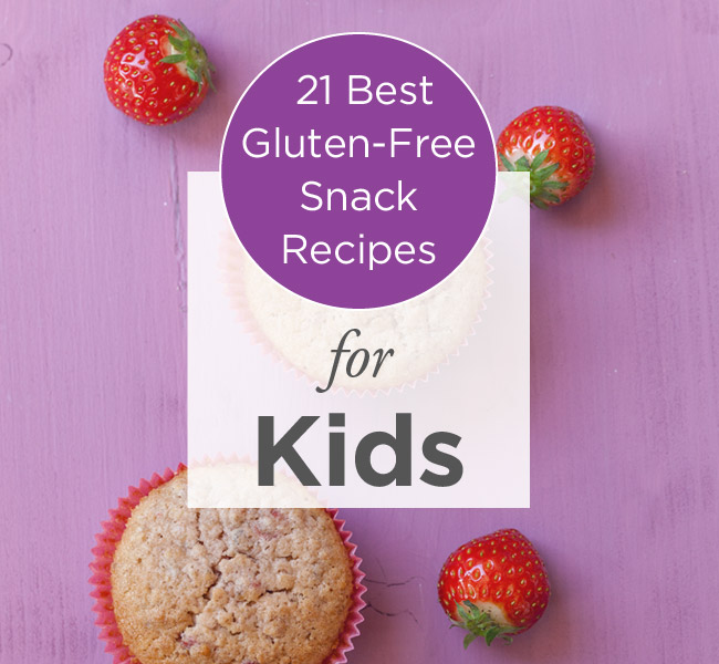 21 Gluten Free Snack Ideas For Your Kids