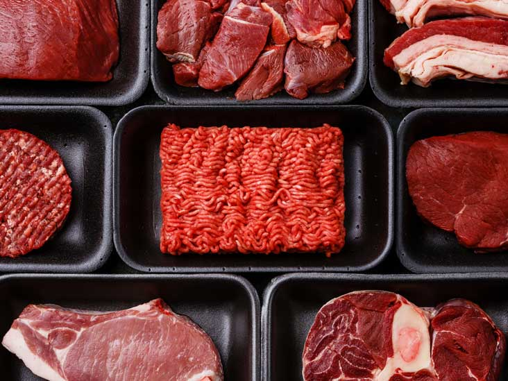 what disease requires no red meat diet