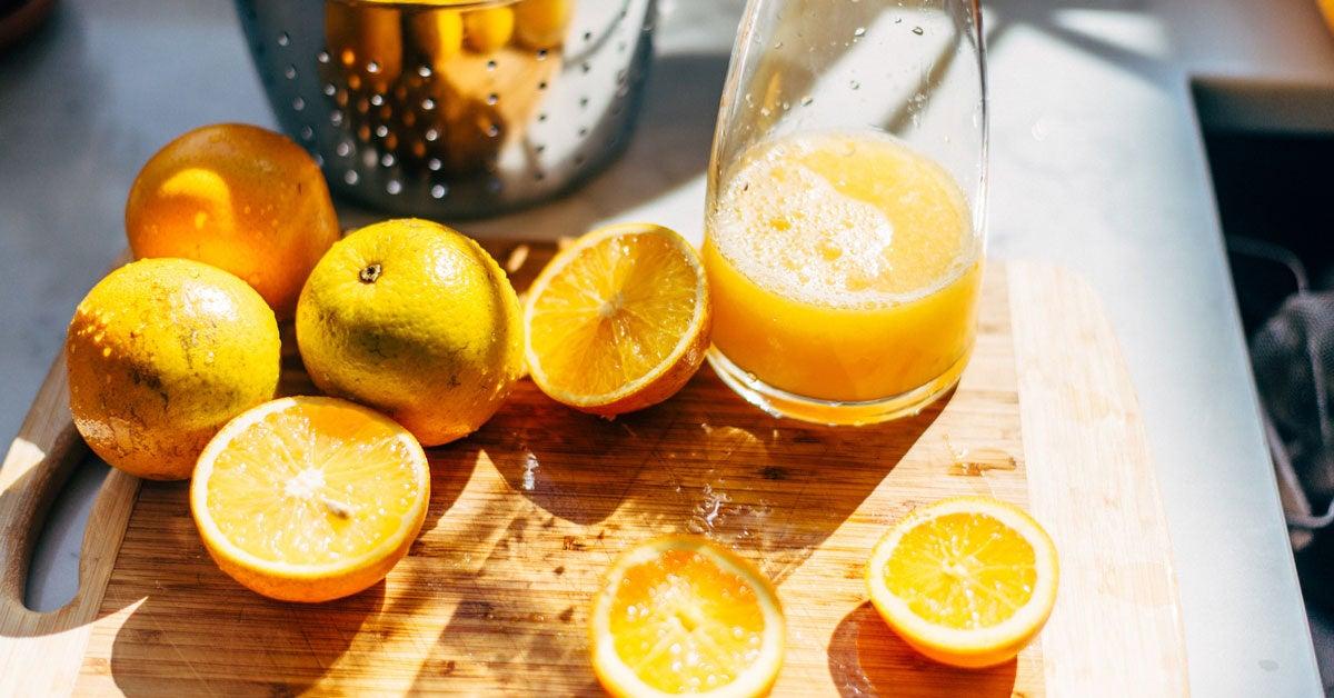 5 Surprising Health Benefits Of Orange Juice