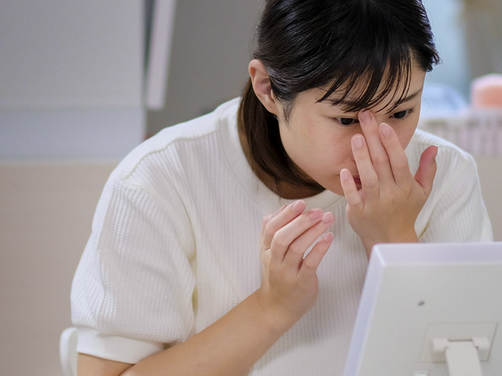 virus papiloma en nariz