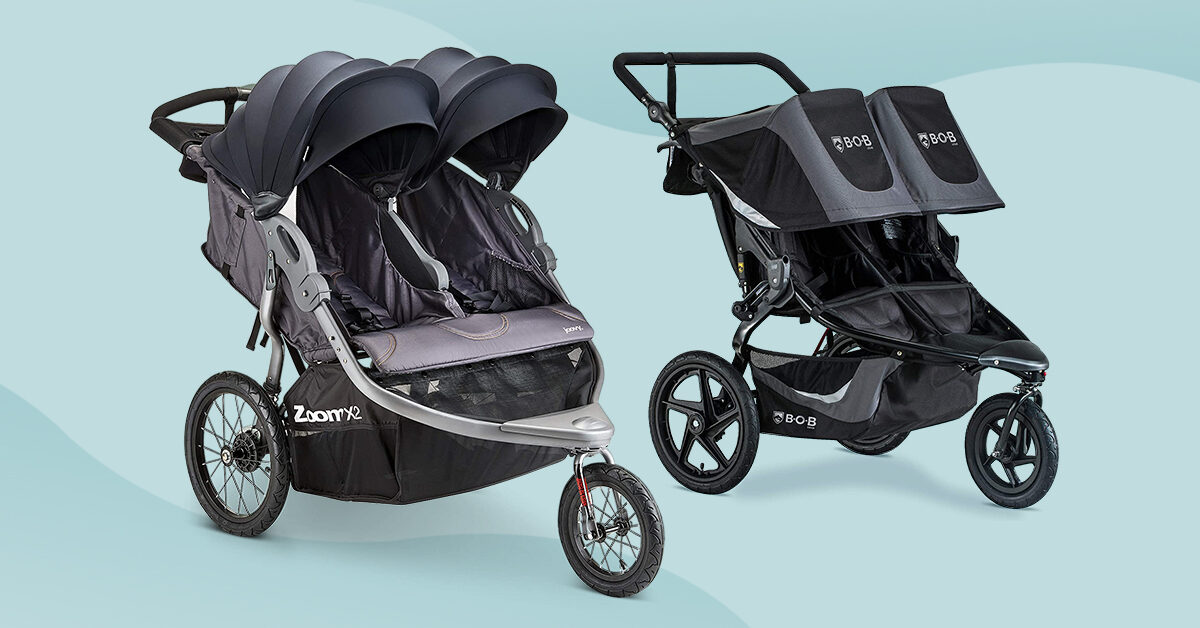 The 5 Best Double Jogging Strollers For, Side By Double Stroller Infant Car Seat