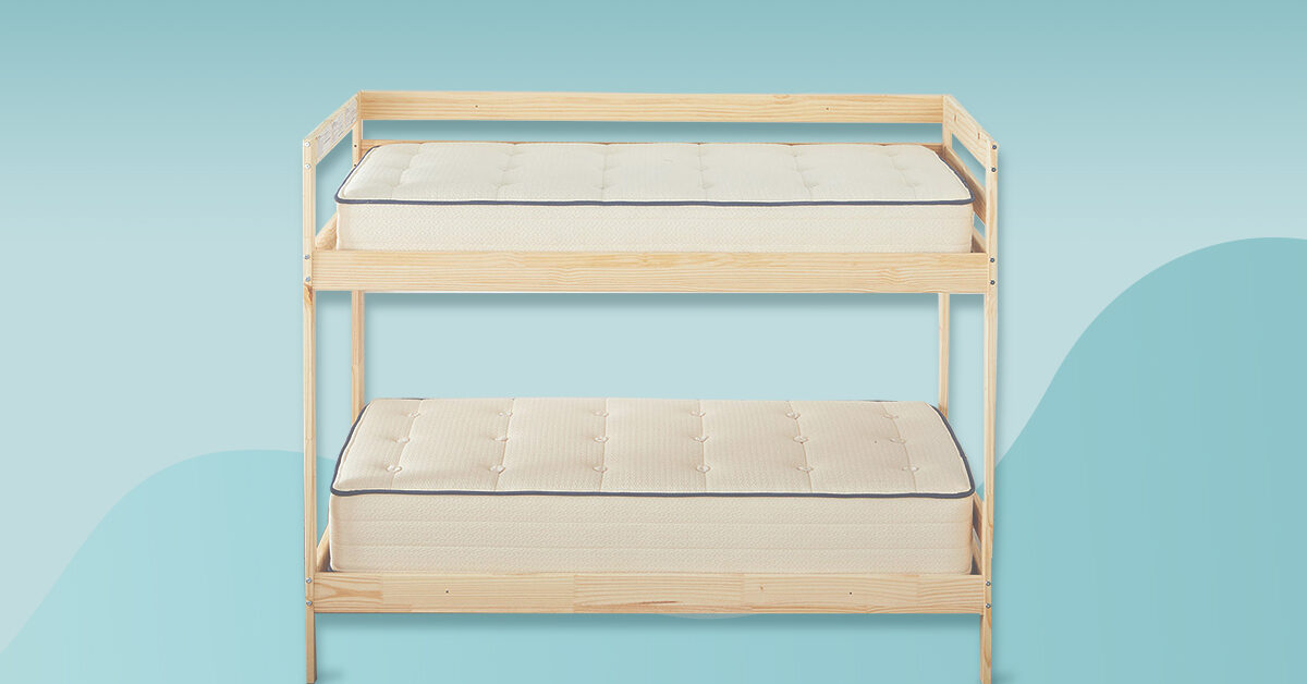 10 Best Bunk Bed Mattresses 2021 Safety Sizes Shopping Tips
