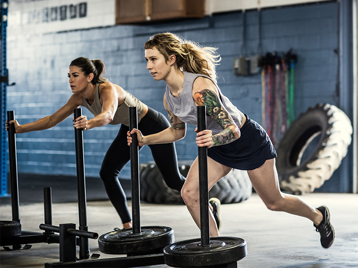 How to Use a Sled Push to Build Power, Speed, and Endurance