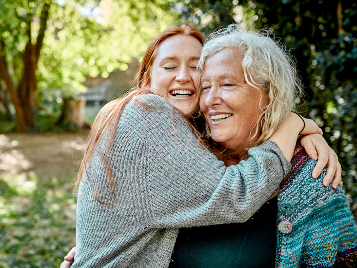 senior woman and young woman in garden 732x549 thumbnail.